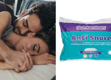 anti-snurk kussen