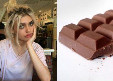 geen chocolade meer