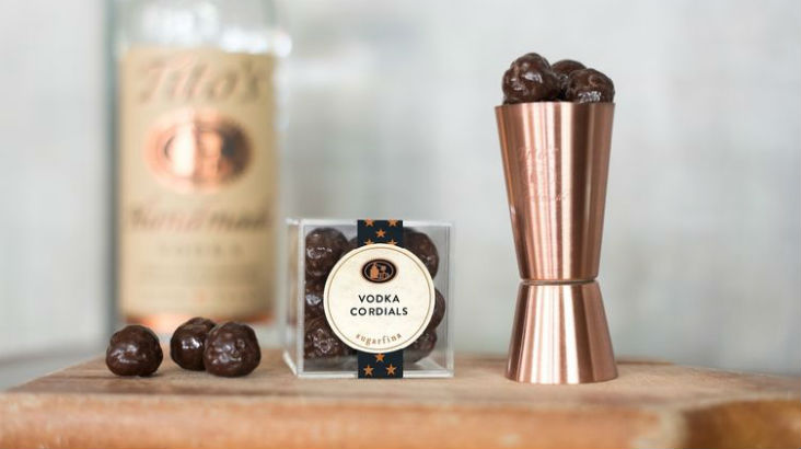 chocolaatjes met wodka