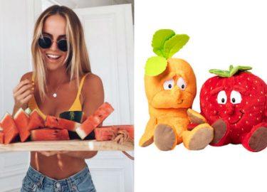 groente- en fruitknuffels