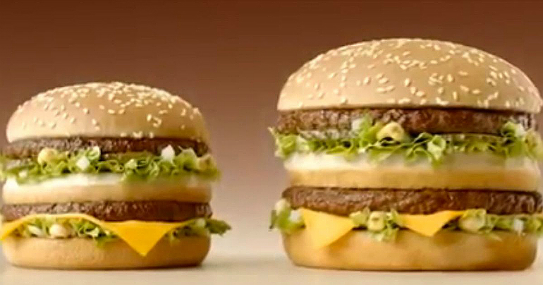 grotere grand big mac