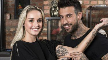 meedoen video pommeline en fabrizio tatoeage tattoo zetten vriend programma
