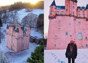 roze kasteel schotland