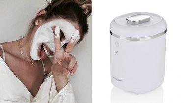 Lidl verkoopt een apparaat waarmee je zelf face masks kunt maken