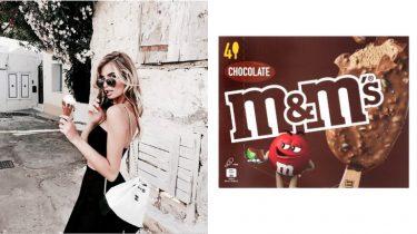 M&M ijsjes