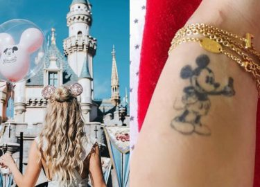disney tatoeage