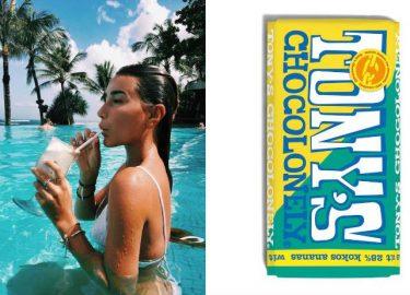Tony's Chocolony wit kokos ananas