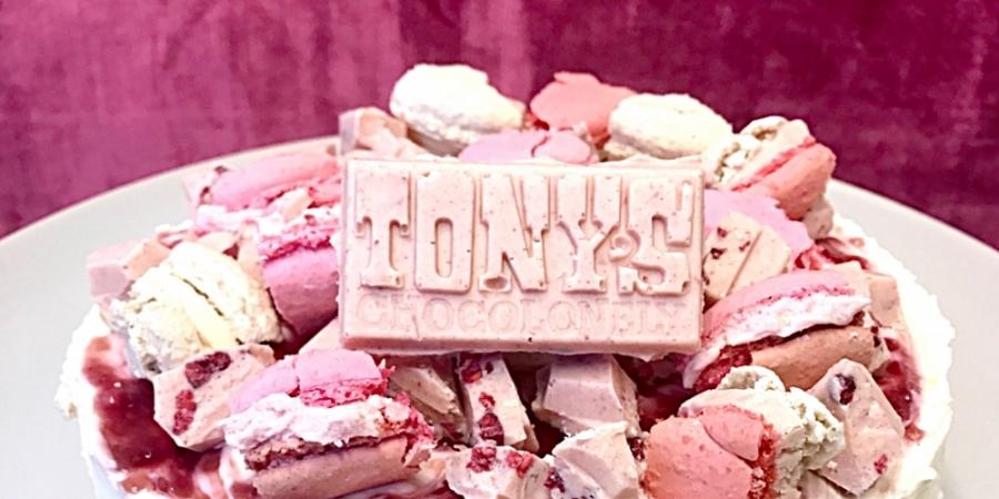 Beste Roze taart Tony's Chocolonely: zo maak je de taart VC-61