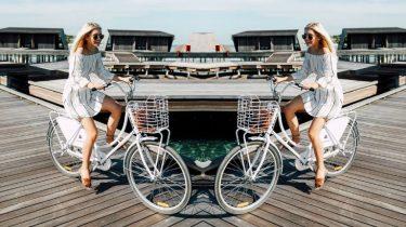 fietsband die niet lek kan