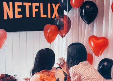 Netflix films meidenavond