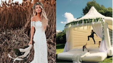 bruidsspringkussen