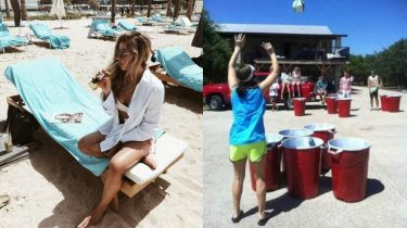 volleybal beer pong