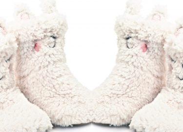 Alpaca sloffen