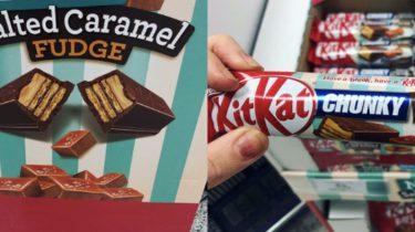 KitKat Salted Caramel Fudge