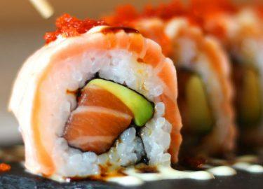 sushi droge ogen