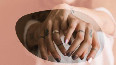 hand tattoo's