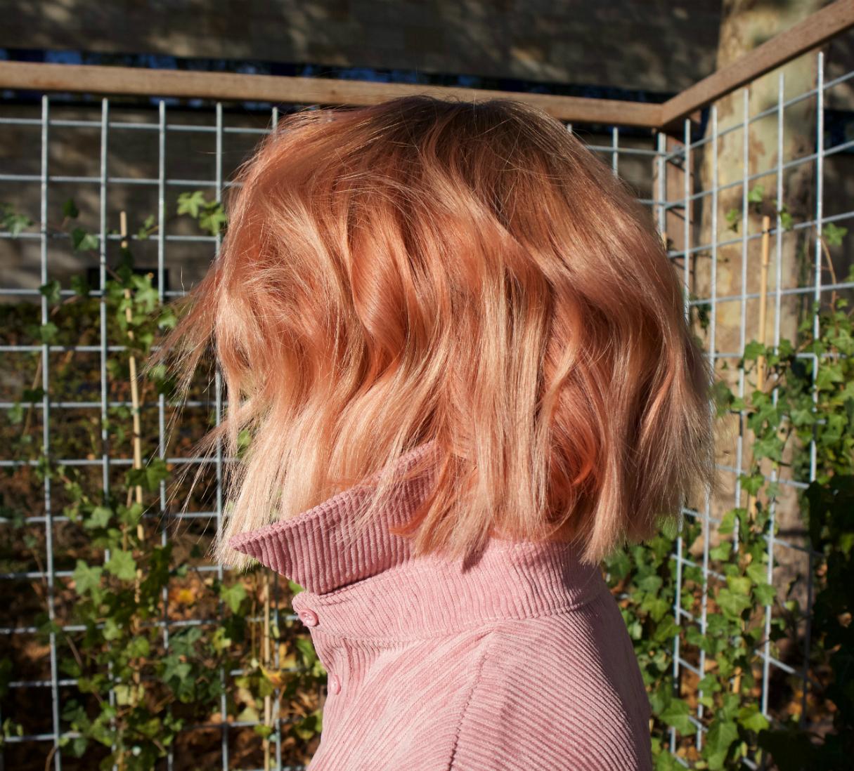peach haarkleur trend 2019