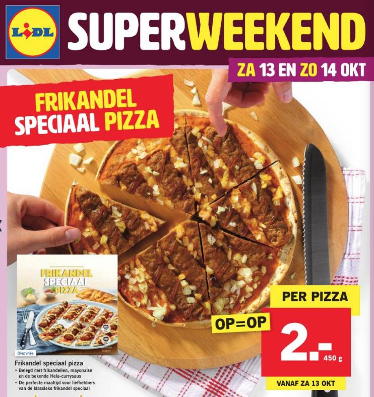frikadel speciaal pizza lidl