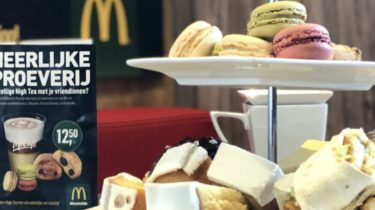 mcdonald's high tea