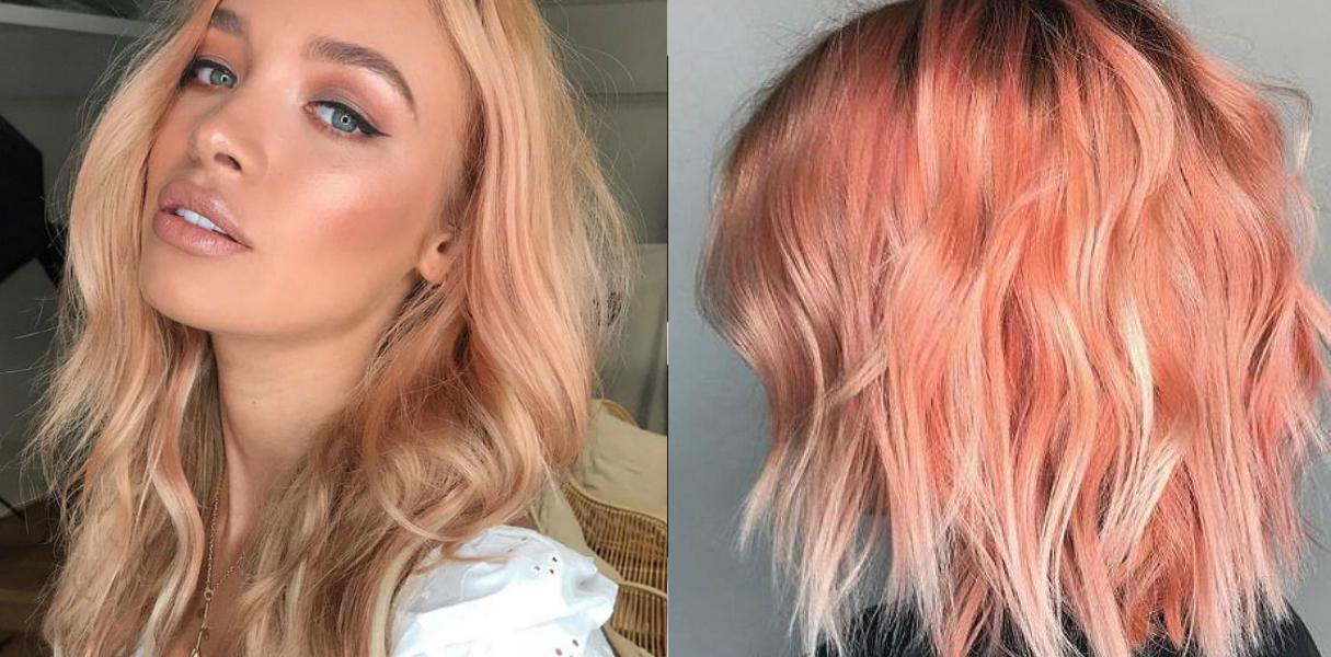 peach hair 2019