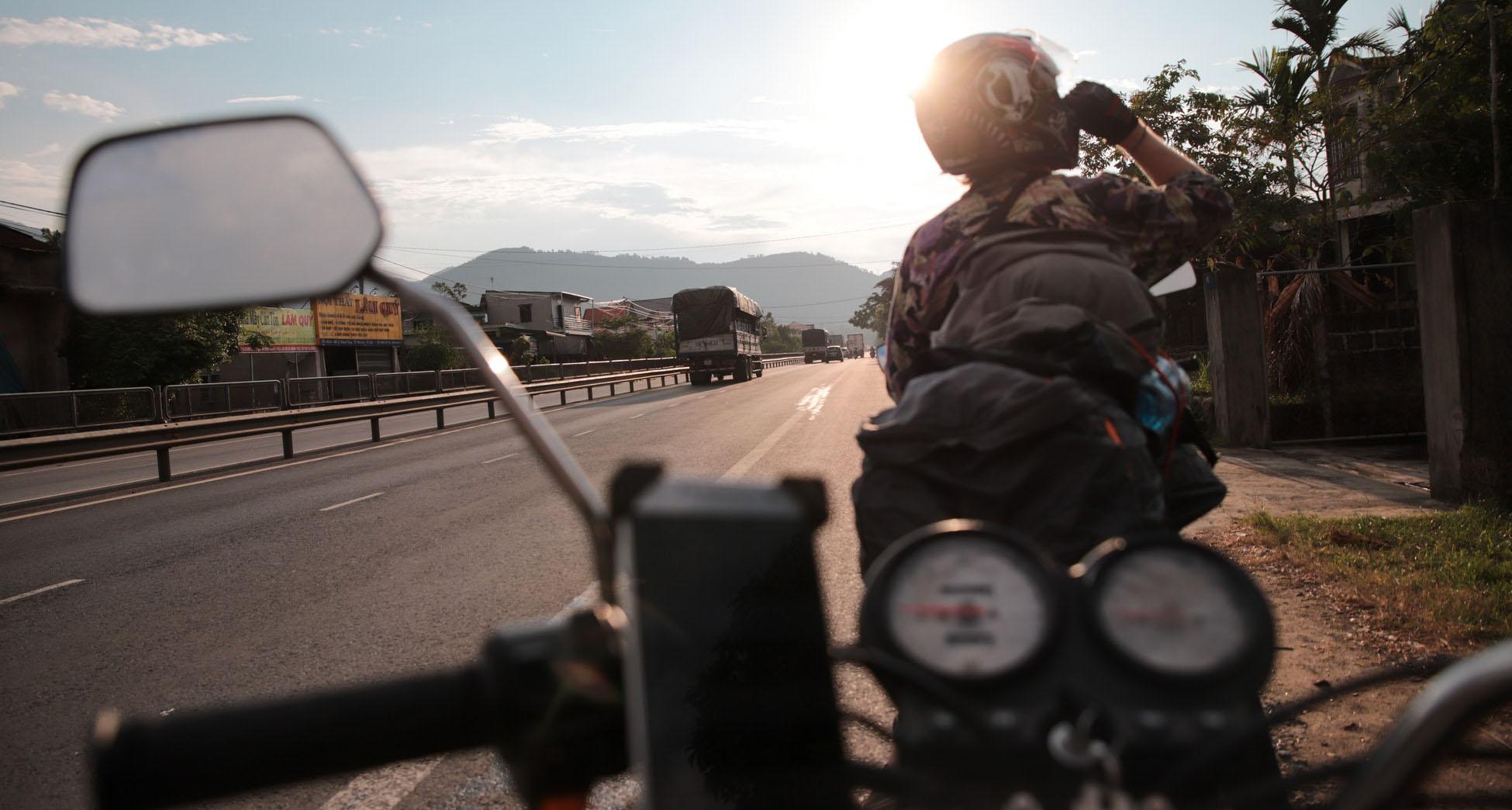 motorrijden Vietnam