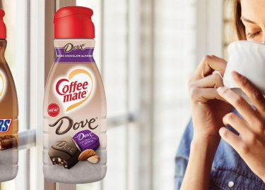 koffiecreamer snickers dove