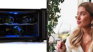wijnkoelkast lidl aanbieding januari 2019