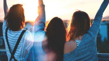 reizen met je vriendinnen is goed voor je gezondheid