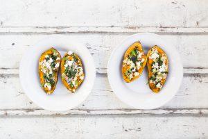 Koolhydraatarme recepten - zoete aardappel toast