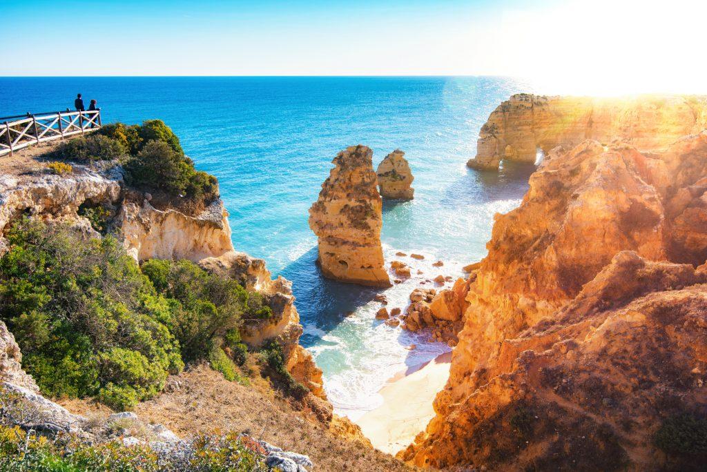 Goedkope vakantie Europa - Praia da Marinha