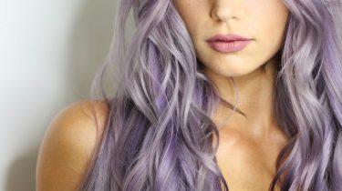 lavendel grijs haartrend