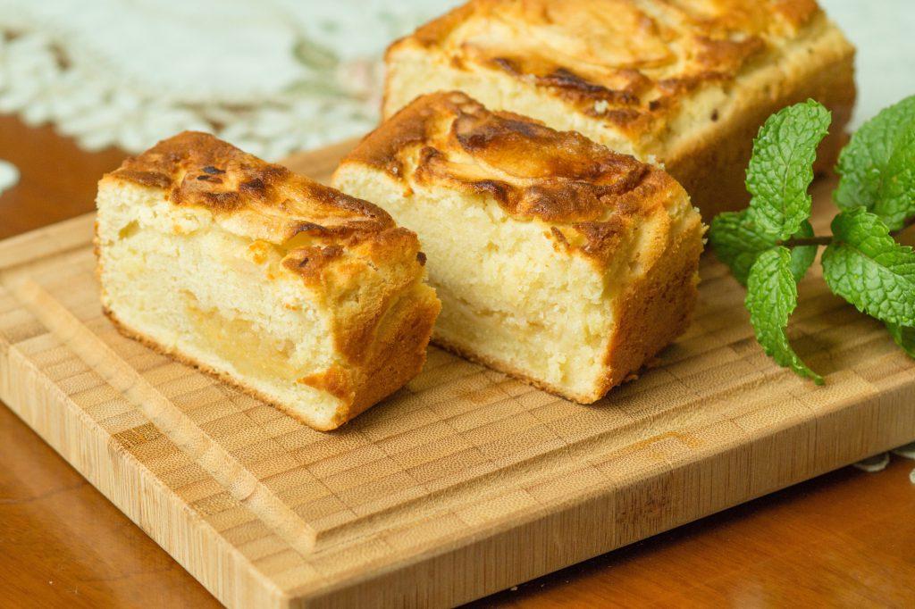 Koolhydraatarme recepten - appel-notencake