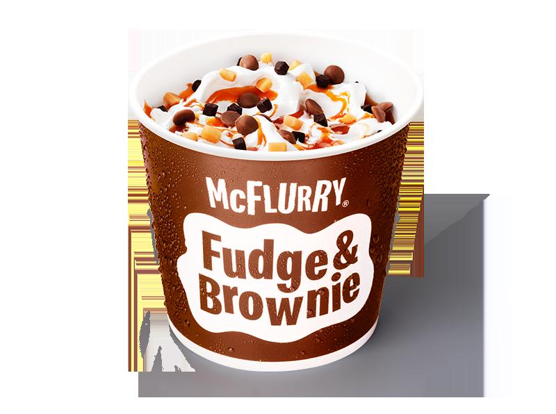 McFlurry Fudge & Brownie