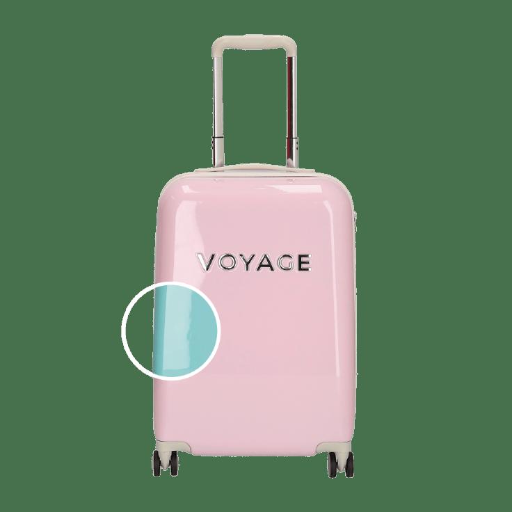 aldi roze koffer