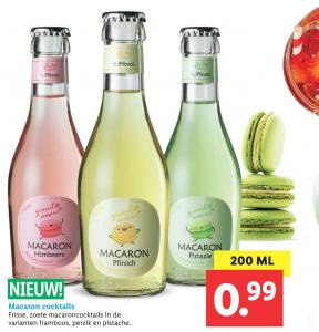macaron cocktails Lidl