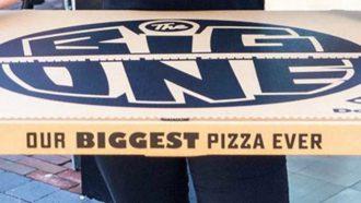 Pizza 70 cm Domino's