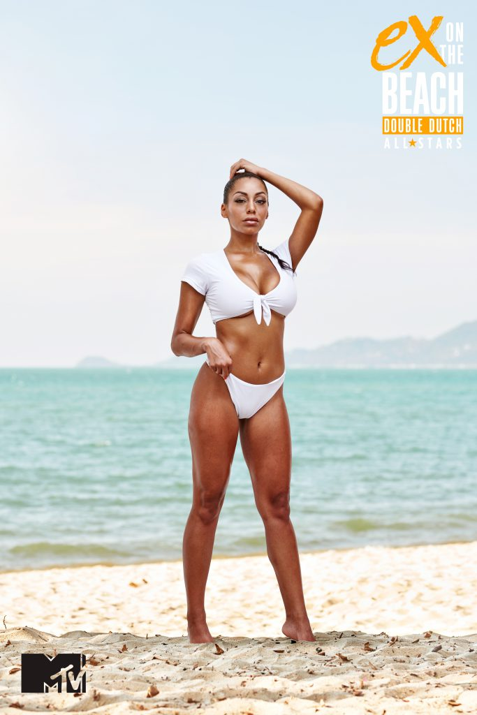 Jamecia arriveert in aflevering 6 van Ex On The Beach All Stars
