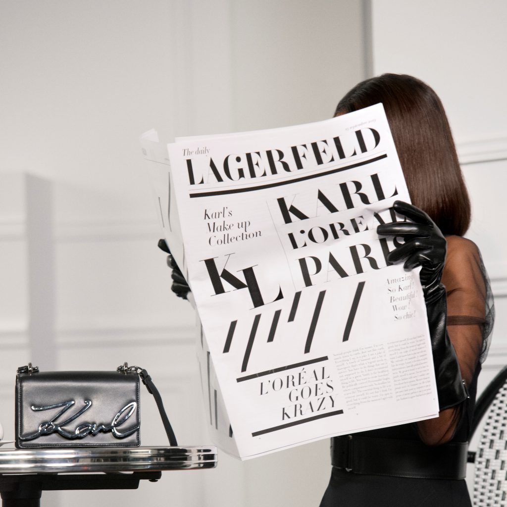 Samenwerking L'Oréal en Karl Lagerfeld