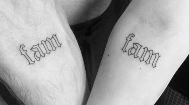 matching tattoos voor familie