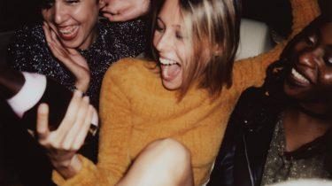 dronken meisjes