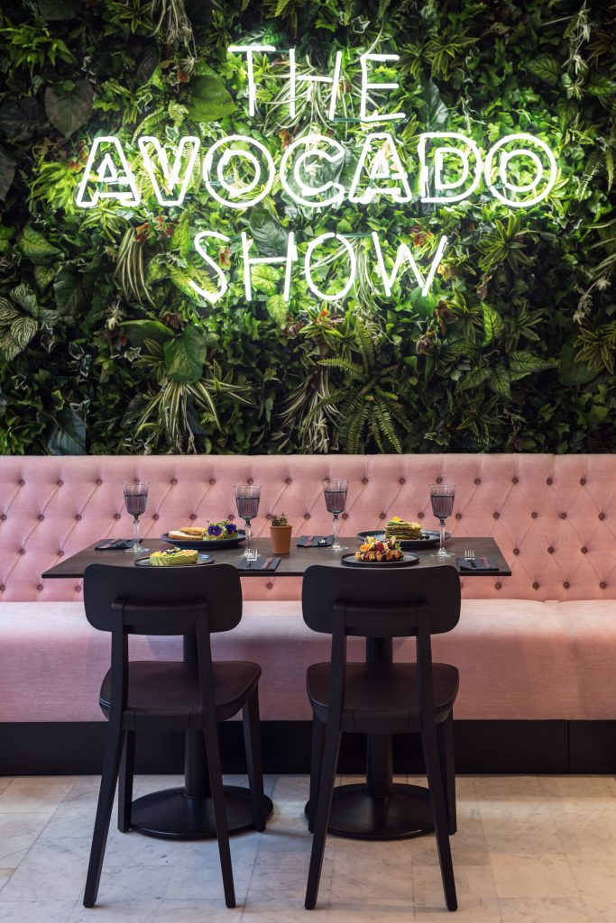 The Avocado Show letters