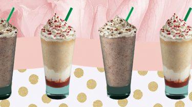 nieuwe Frappucino's Starbucks