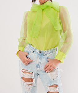 organza blouse