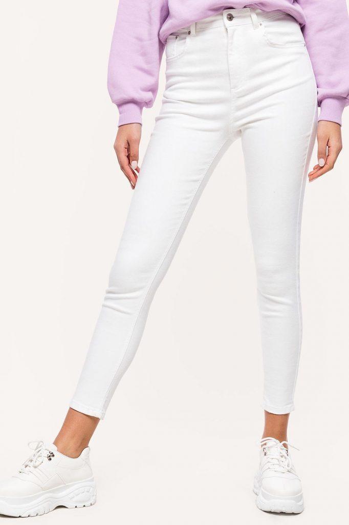 loavies witte spijkerbroek