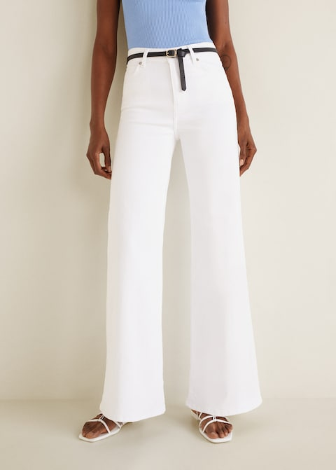 mango witte jeans
