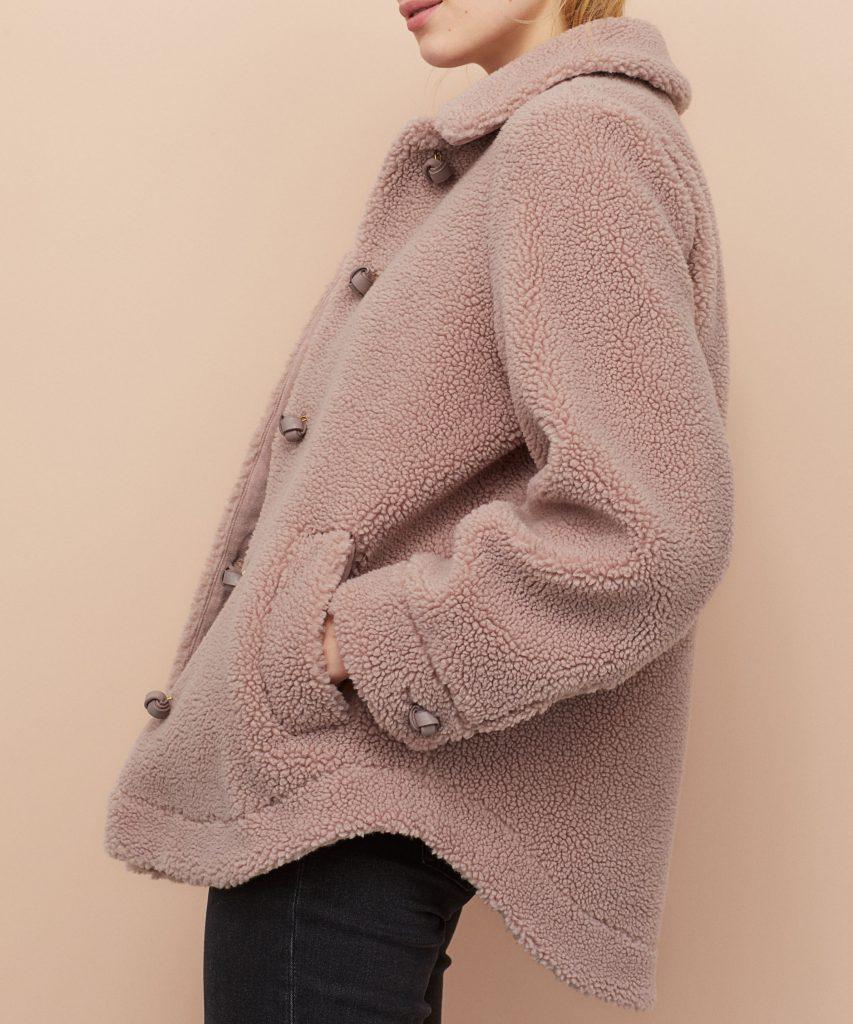H&M teddy jas