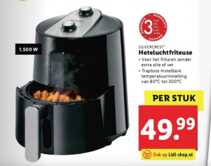 lidl airfryer €50