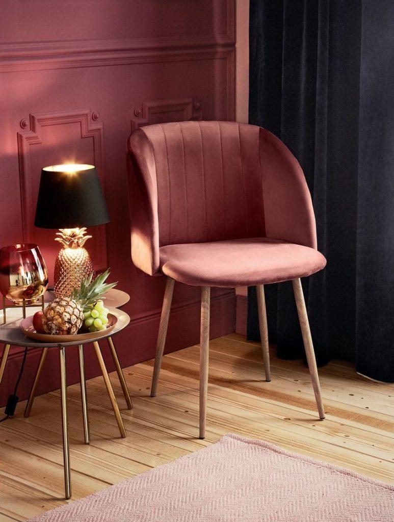 lidl roze stoel