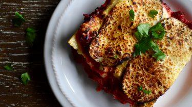 Lasagne recept in een mok