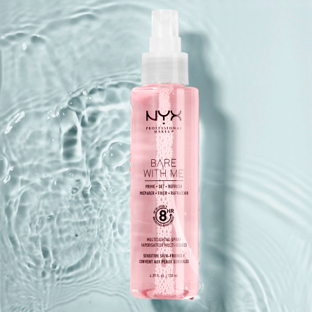 NYX Bare With Me Prime.Set.Refresh.Gezichtsspray